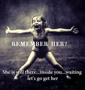 release your inner child