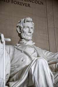 44938871 - lincoln memorial with its enormous statue of abraham lincoln in washington dc usa