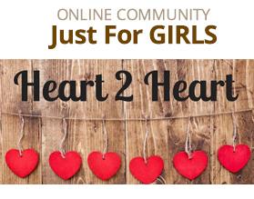 Heart 2 Heart Online Community for Girls