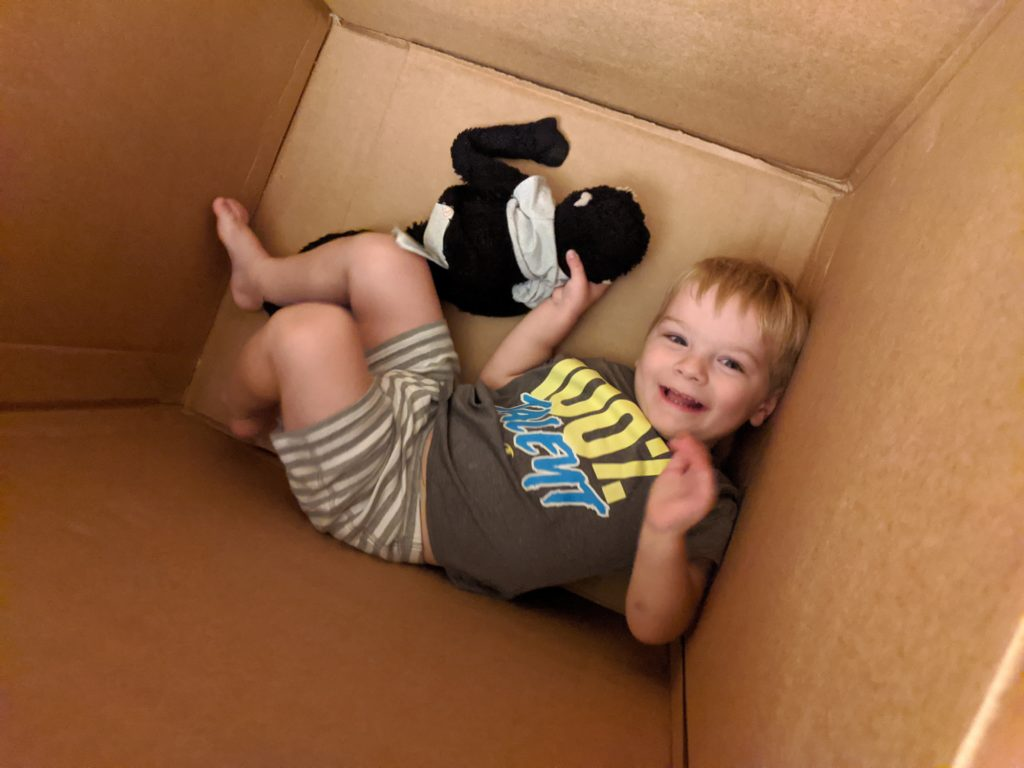 Playing with boxes